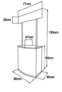 Прилавок для кислородного оборудования